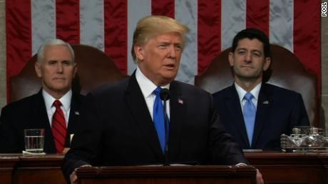 President Donald Trump, State of the Union speech